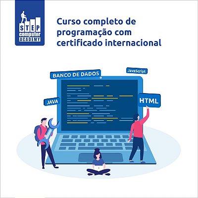 Curso de Programação ao vivo 1 módulo