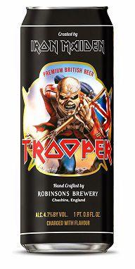 Cerveja The Trooper Premium British Beer Lata 500ml