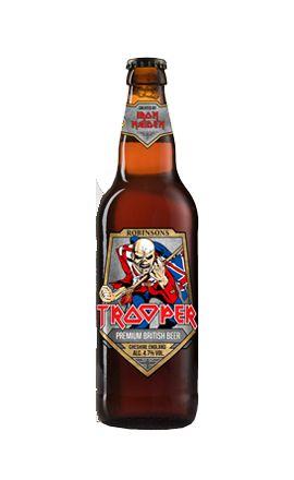 Cerveja The Trooper Premium British Beer Garrafa 500ml