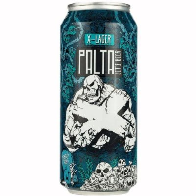 Cerveja Palta X-Lager Lata 473ml