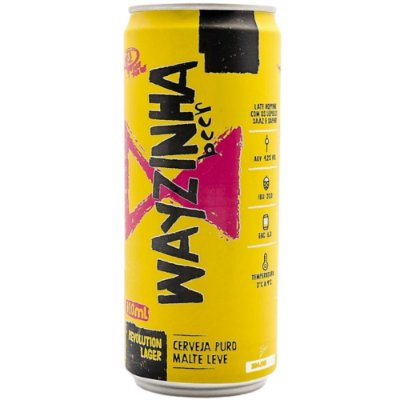 Cerveja Way Wayzinha Revolution Lager 310ml