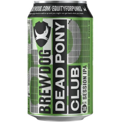 Cerveja BrewDog Dead Pony Club Session IPA Lata 330ml
