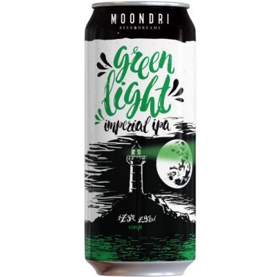 Cerveja Moondri Green Light Imperial IPA 473ML