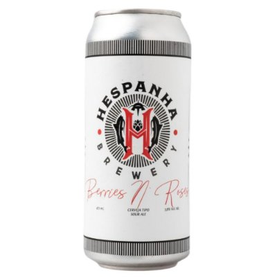 Cerveja Hespanha Berries N Roses Sour 473ml