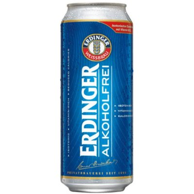 Cerveja ERDINGER SEM ÁLCOOL LATA 500ML