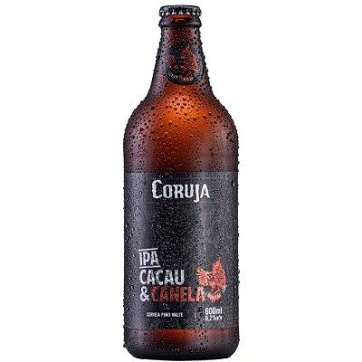 Cerveja Coruja IPA Cacau e Canela Garrafa 500ml
