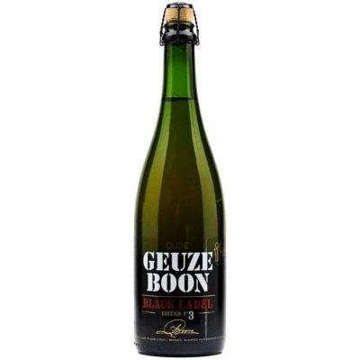 Cerveja Oude Geuze Boon Black Label 750ml