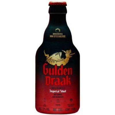 Cerveja Gulden Draak Imperial Stout Garrafa 330ml
