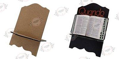 Porta Bíblia em MDF
