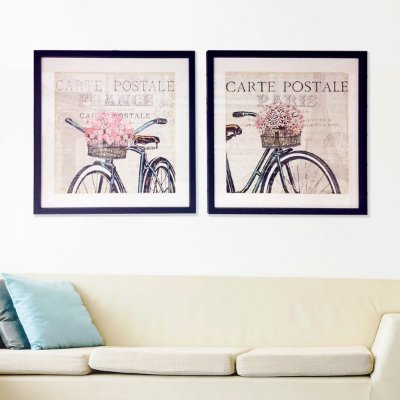 Conjunto Quadros de Bicicleta