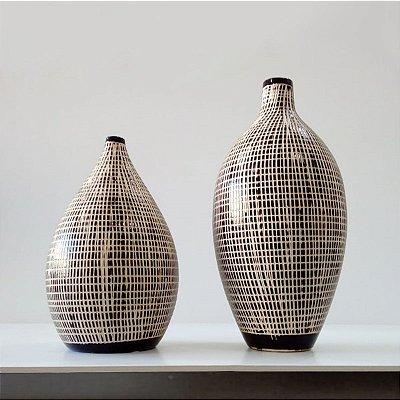Conjunto Vasos de Cerâmica