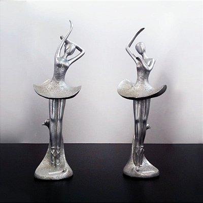 Conjunto peças de Decoração de Bailarinas