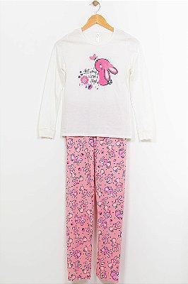 Pijama juvenil longo estampado malwee