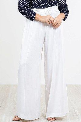 Calça pantalona lisa lola