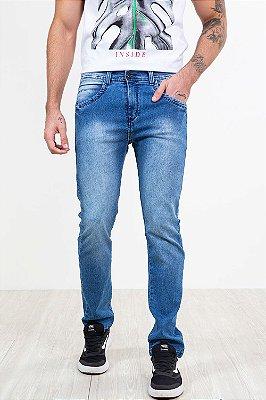 Calça jeans slim com bolso seven