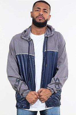 Jaqueta corta vento com capuz bgo