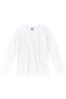 Camiseta manga longa lisa malwee