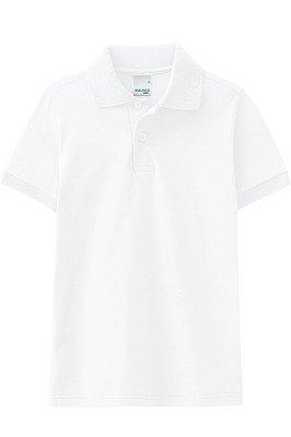 Camiseta manga curta gola polo lisa malwee