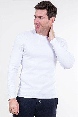 Camiseta manga longa canelada malwee