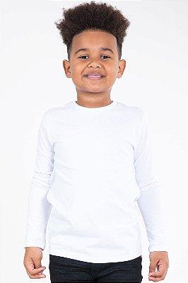 Camiseta básica manga longa malwee