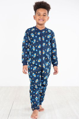 Pijama macacão moletinho estampado kyly