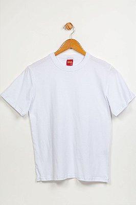 Camiseta básica juvenil manga curta lisa kyly