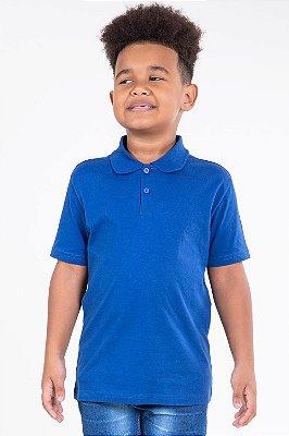 Camiseta infantil manga curta gola polo kyly