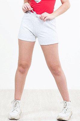 Shorts moletom juvenil mescla kyly