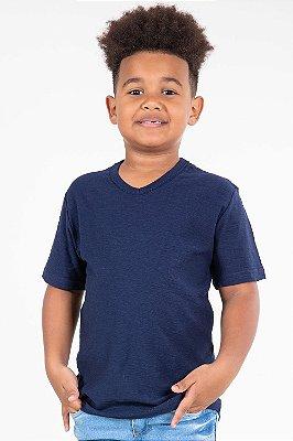 Camiseta infantil manga curta flamê kyly
