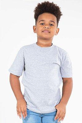 Camiseta infantil manga curta mescla kyly
