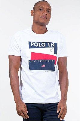 Camiseta manga curta com estampa all free