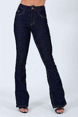 Calça jeans flare biotipo