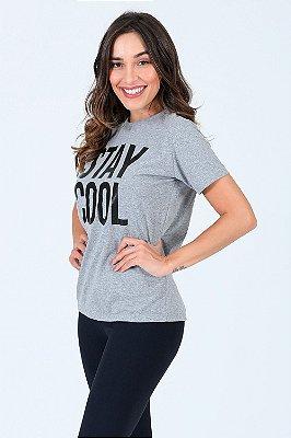 Camiseta manga curta com estampa