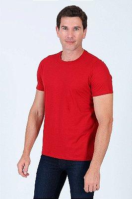 Camiseta básica de algodão