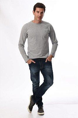Camiseta manga longa básica