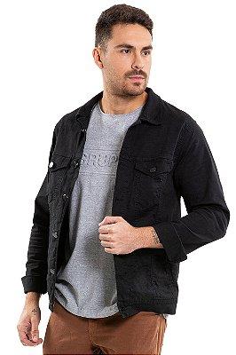 Jaqueta sarja com bolso