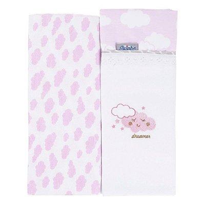 Kit toalha fralda 2 peças