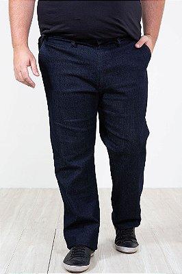 Calça jeans com bolso faca plus size
