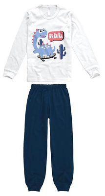 Pijama infantil manga longa malwee