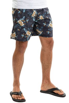 Shorts floral c/ bolso