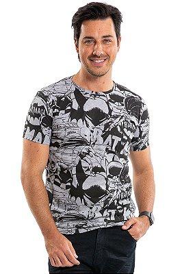 Camiseta manga curta batman
