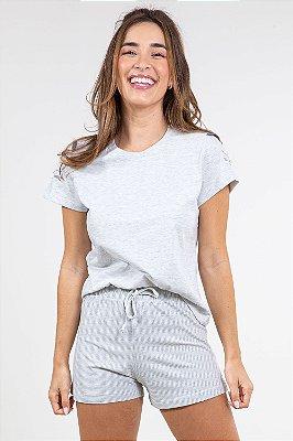 Pijama detalhe bordado Pzama