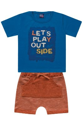 Conjunto infantil let's play out side