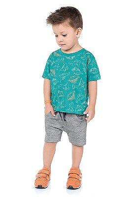 Conjunto infantil dinossauro