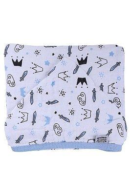 Toalha banho tecido soft reino encantado
