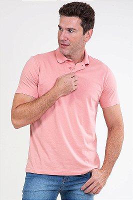 Camisa polo em piquet malwee