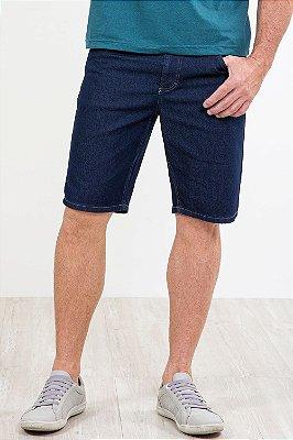Bermuda jeans reta malwee