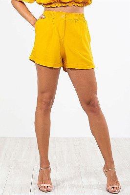 Shorts curto c/ barra virada