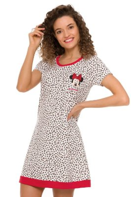 Camisola manga curta estampada minnie
