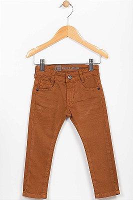 Calça sarja infantil skinny